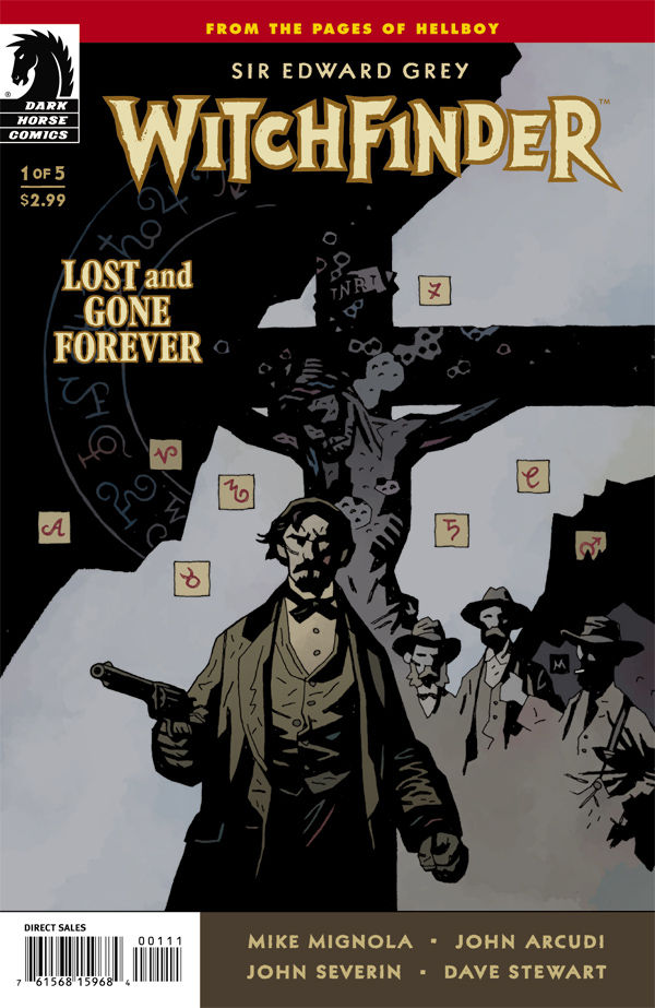 Witchfinder: Lost & Gone Forever #1 Cover Mike Mignola Hellboy