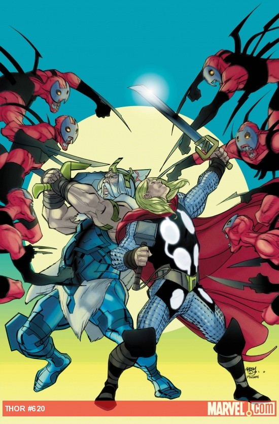 THOR #620 Cover Matt Fraction Marvel Comics