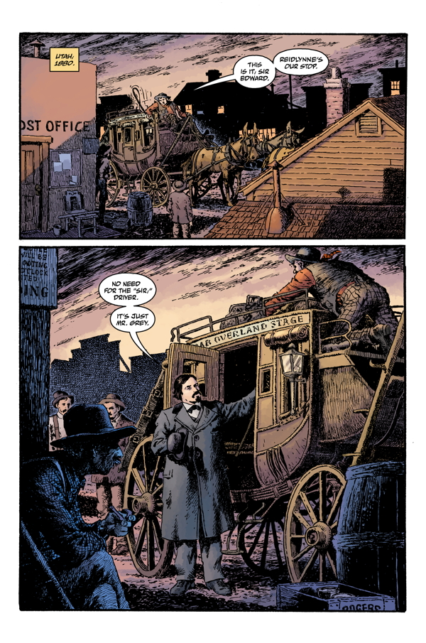 Witchfinder: Lost & Gone Forever #1 Mike Mignola Hellboy