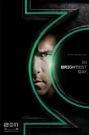 Green Lantern Movie Poster Ryan Reynolds DC Comics